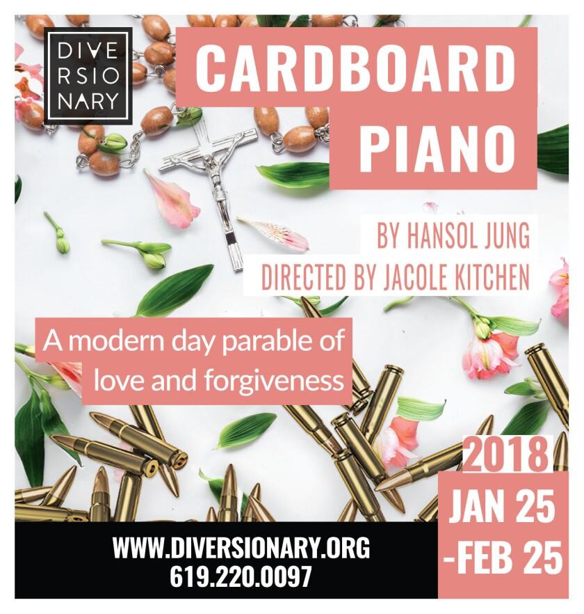 Cardboard Piano.