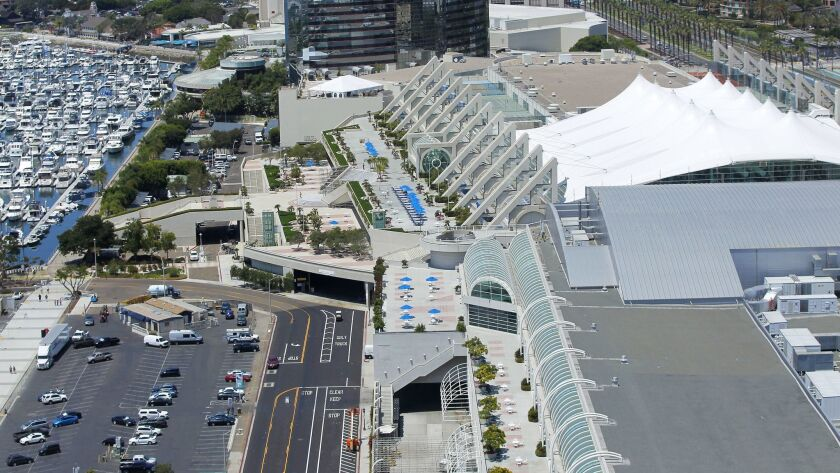 The ballot text for an initiative that aims to raise San Diego's hotel tax to underwrite the expansion of the San Diego's Convention Center is being challenged by two separate lawsuits.