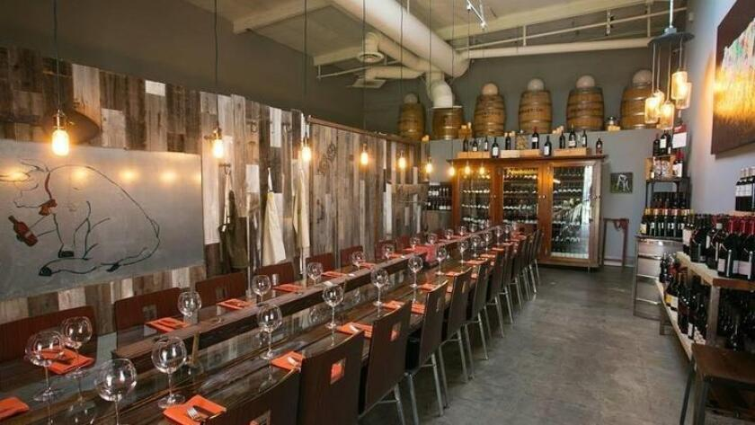 Kitchen 4140's private wine room (UT-Photo)