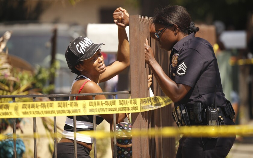 South L.A. shooting