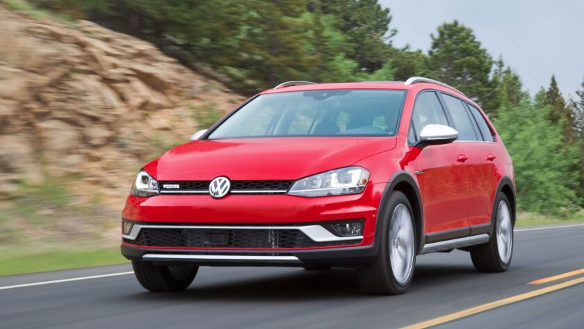 The Alltrack is a small but fairly roomy small wagon with much attention to detail.