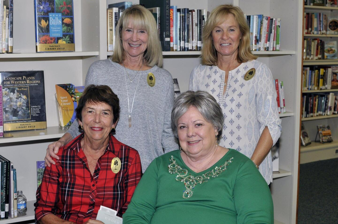 Candace Humber, Kathleen Corneil. Seated: Judy Arendsee, Dianne Sullivan