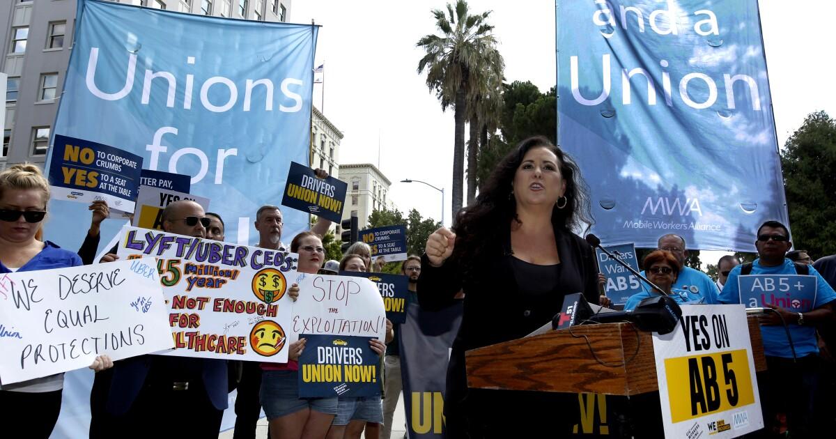 Lorena Gonzalez mag einen guten Kampf. Und die California Gesetzgeber gewinnt eine Menge von Ihnen