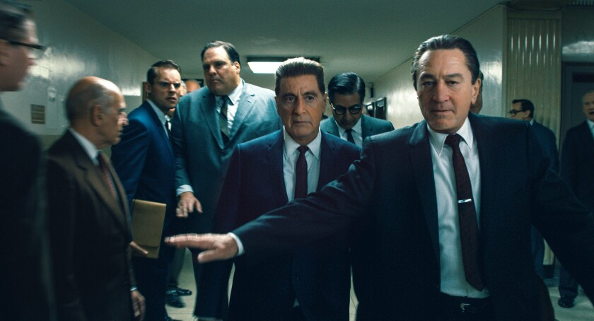 "Al Pacino and Robert De Niro in ""The Irishman"""