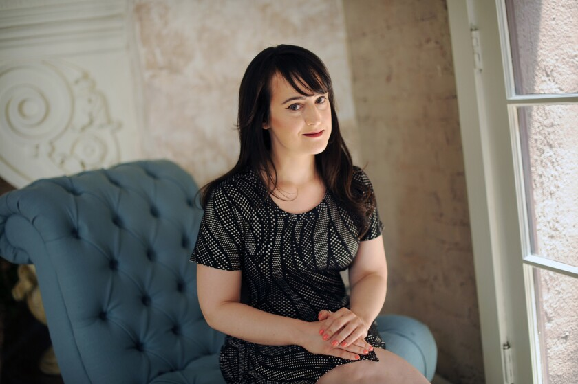 Actress Mara Wilson poses for a portrait.
