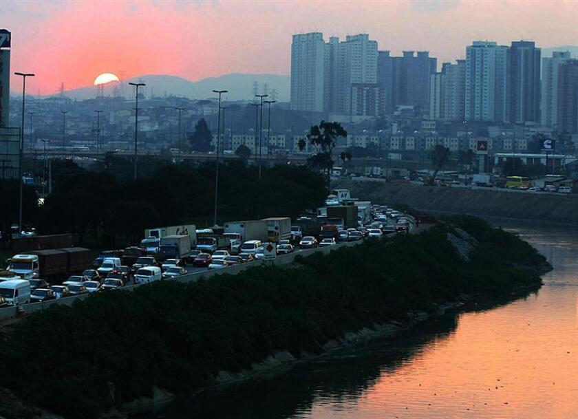 Vista de la ciudad de São Paulo. EFE/Archivo