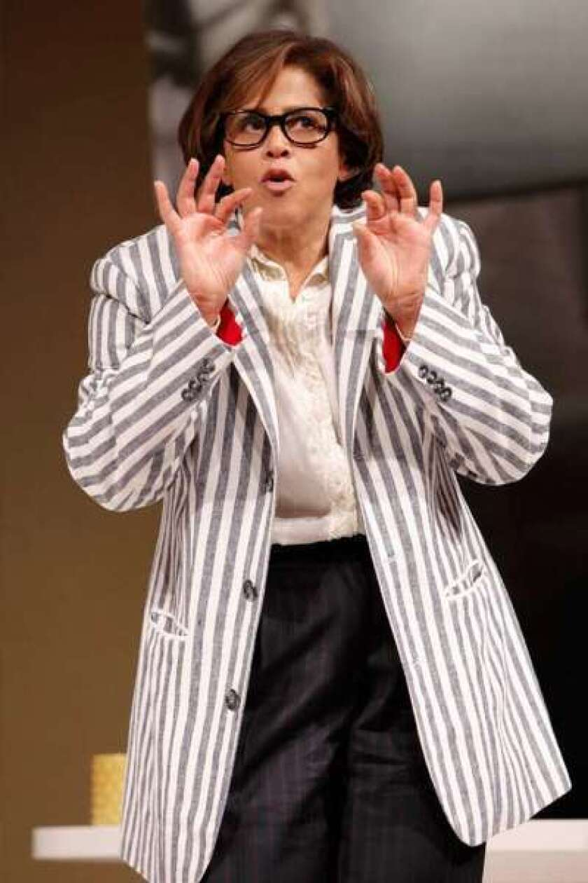 """Anna Deavere Smith in """"Let Me Down Easy"""" in 2011. Smith has been awarded the $300,000 Dorothy and Lillian Gish Prize for artists for 2012."""