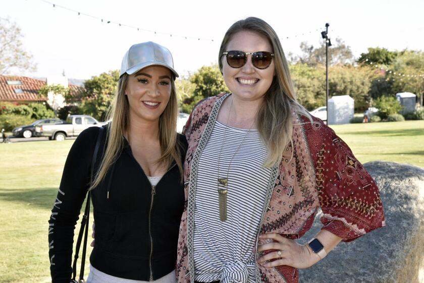 RSF Association HR Assistant Gia Lentini, Communications Specialist Karlin Vance