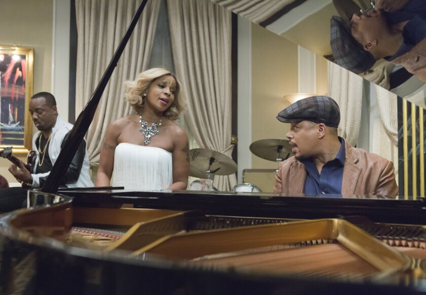 "Mary J. Blige and Terrence Howard on ""Empire"""