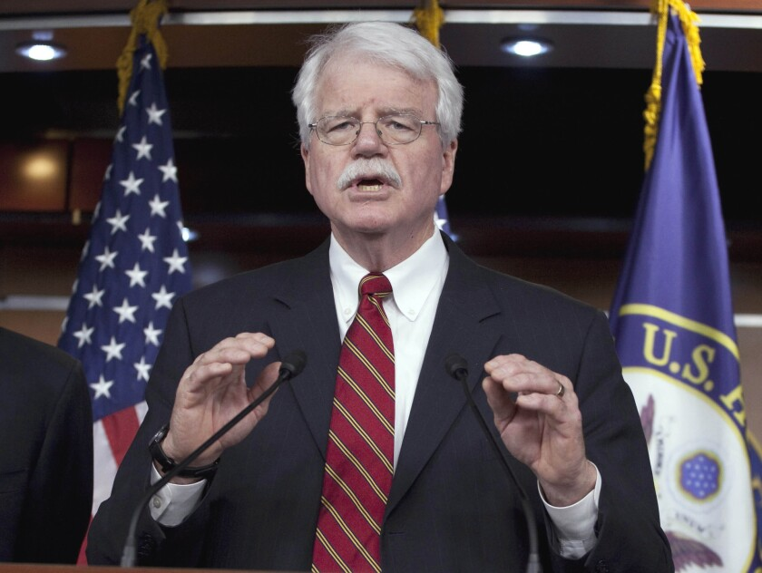 But what's the rush? Rep. George Miller, D-Martinez, who is pressing to conclude a deal on multiemployer pension plan problems before he leaves office this month.