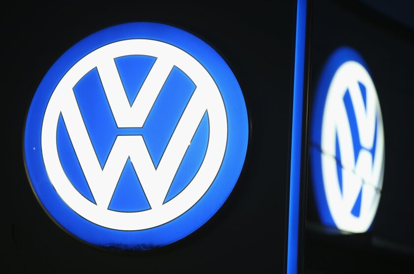 Volkswagen's U.S. sales fell in November following an emissions cheating scandal.