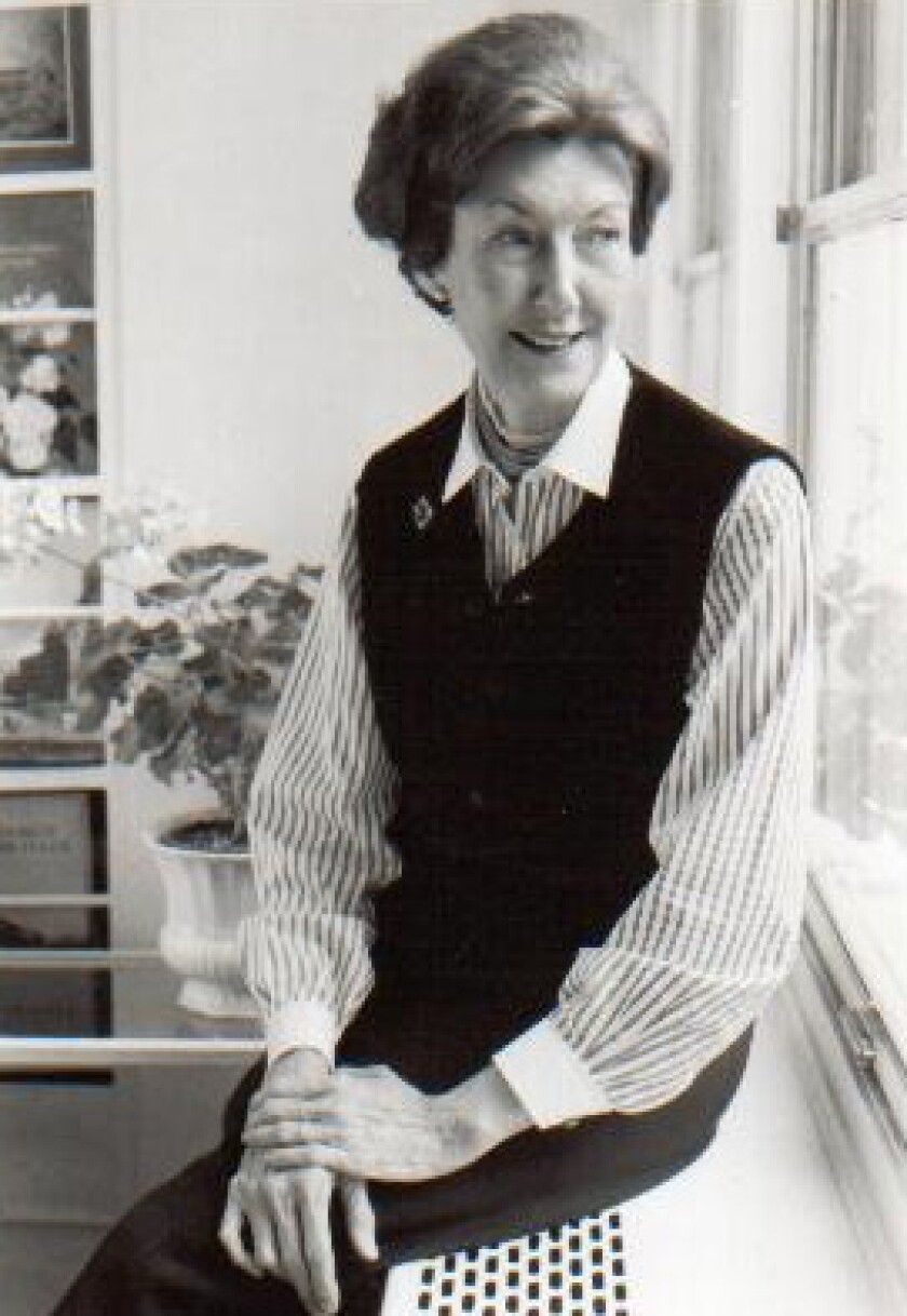 """The late author Shirley Hazzard, whose """"Collected Stories"""" are out this week."""