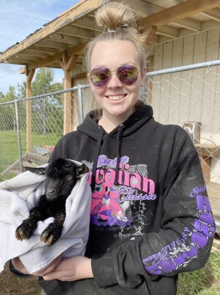 Adelaide Sorbo, an FFA representative on the Ramona Junior Fair board, has raised animals for eight years.
