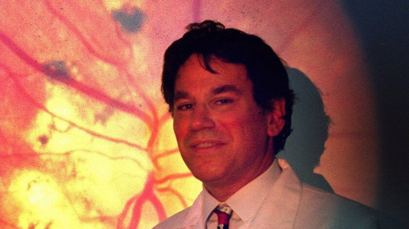 Robert Weinreb, professor of ophthalmology, was paid $1,058,586 in 2011. [U-T file]
