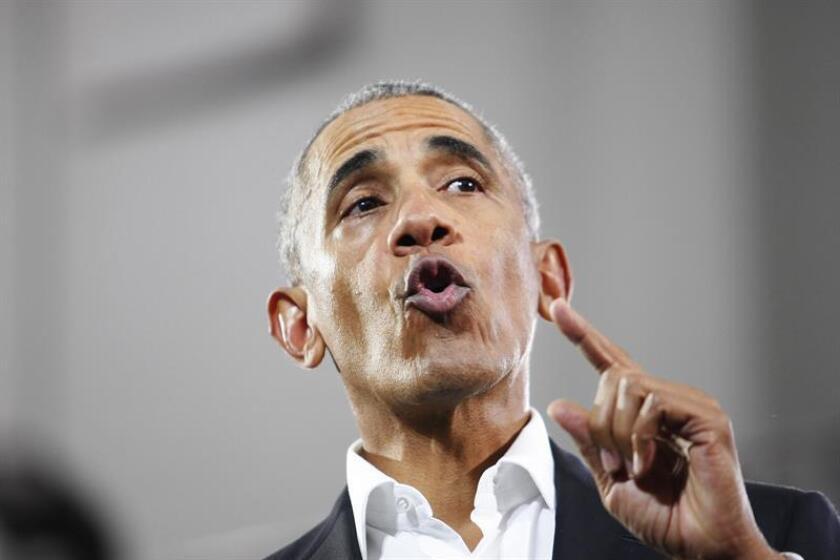 Former President Barack Obama. EFE/EPA/FILE