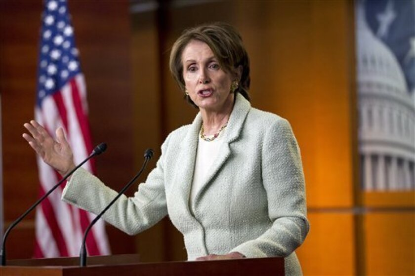 House Minority Leader Nancy Pelosi of San  Francisco is among those scheduled to speak at the California Democratic Party convention Saturday at the San Diego Convention Center.