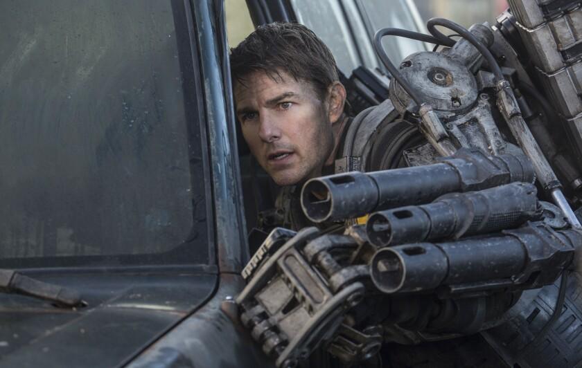 """Edge of Tomorrow"" stars Tom Cruise."