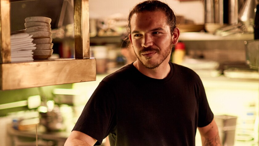 Chef Casey Lane, whose restaurant the Tasting Kitchen is in Venice, is opening a restaurant in downtown L.A.'s Hotel Figueroa by the end of the year.