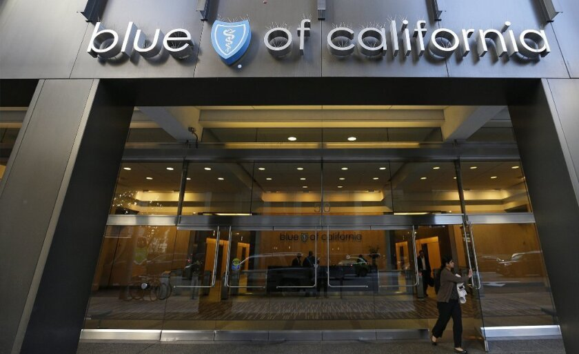 Blue Shield of California must return millions of dollars to customers because it fell short of requirements under the federal health law. Above, the company's San Francisco headquarters.