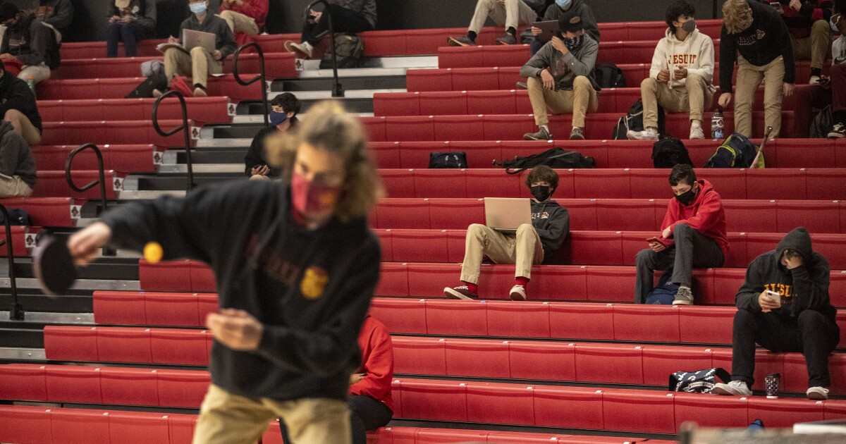 This high school reopened two months ago, with no COVID-19 outbreaks. Here's how