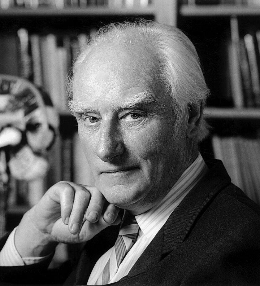 Molecular biologist, Biophysicist and neuroscientist Francis Crick (1916-2004)