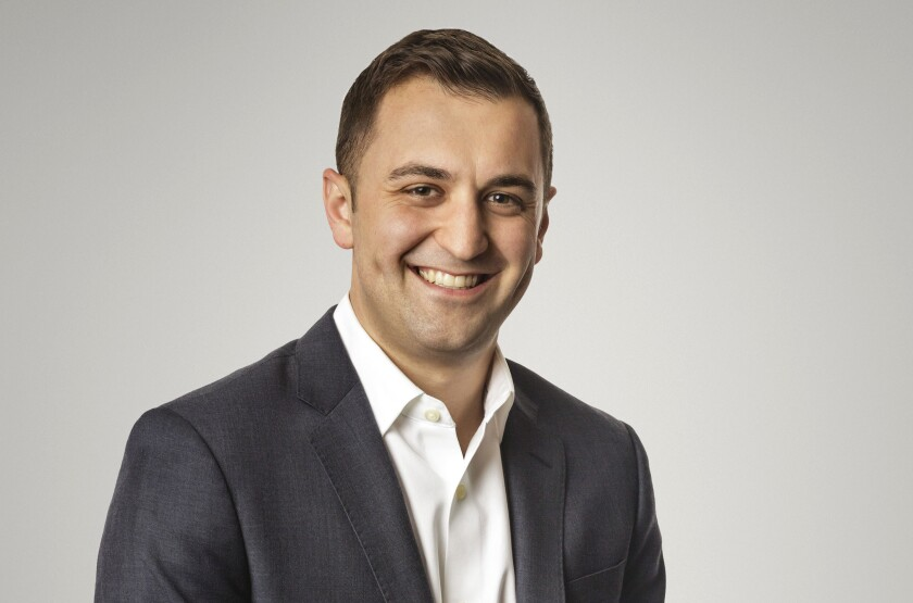 This photo provided by Lyft shows Lyft's president John Zimmer. Lyft scored a major victory when California voters passed Proposition 22, allowing app-based companies to treat drivers as contractors instead of employees and saving the company from what many anticipated would be crippling expenses. (Lyft via AP)