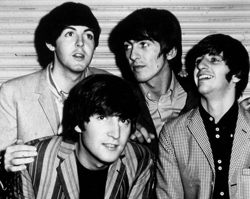 The Beatles In Los Angeles