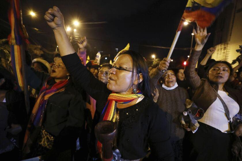 ECUADOR-CRISIS POLITICA