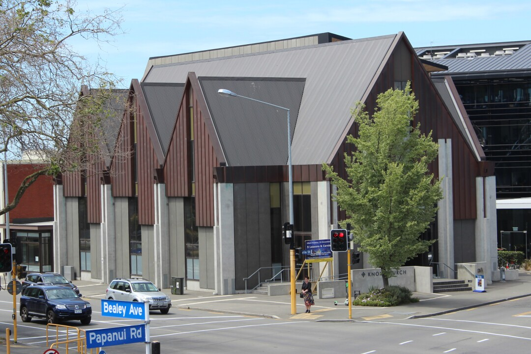Knox Church Bealey Ave Christchurch