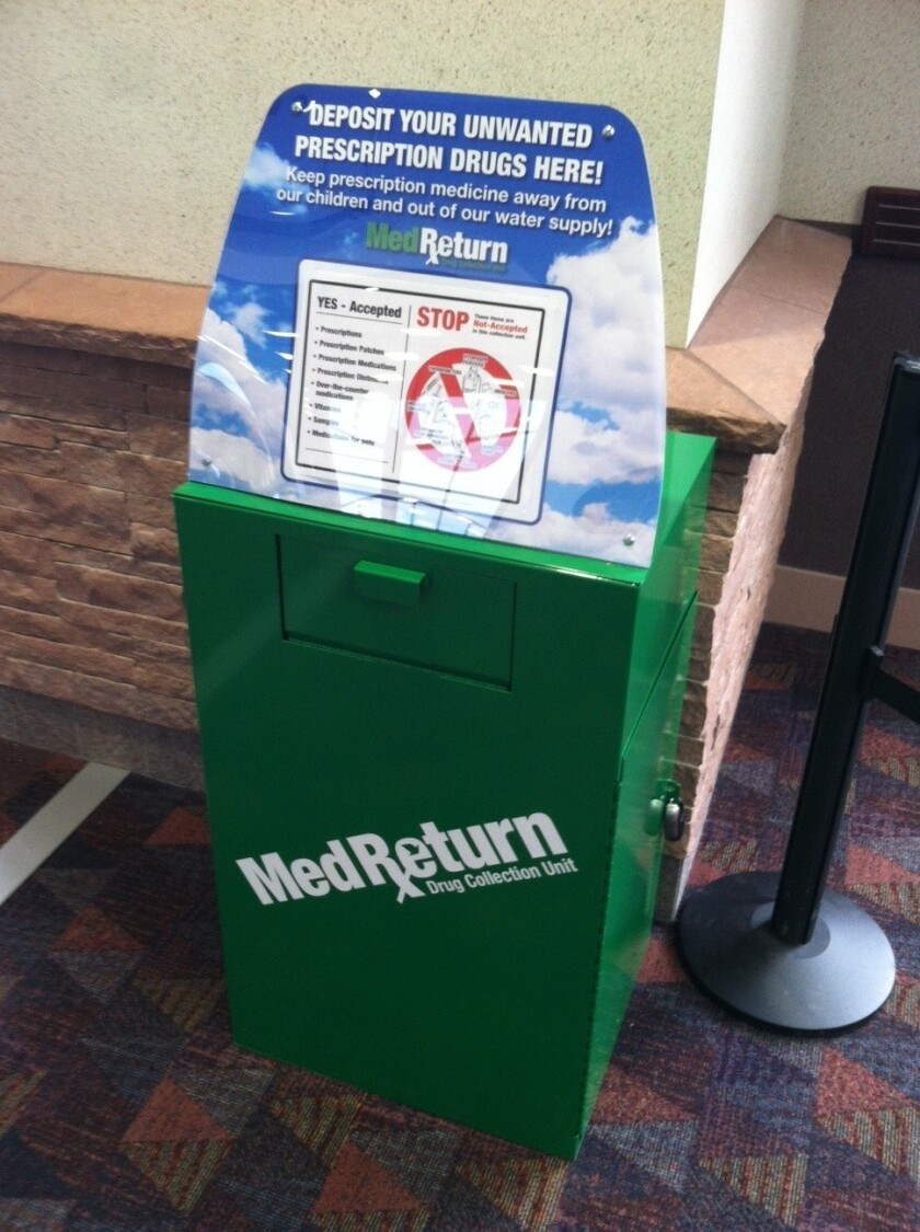 """Colorado Springs Airport has installed three """"amnesty boxes"""" where travelers can leave behind their marijuana."""