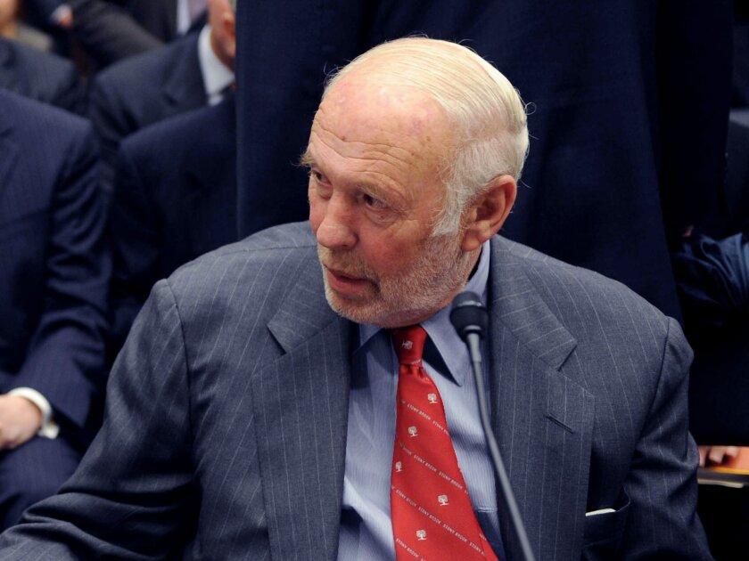 Billionaire-mathematician James Simons