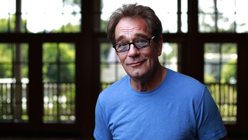 Huey Lewis, photographed in Balboa Park.