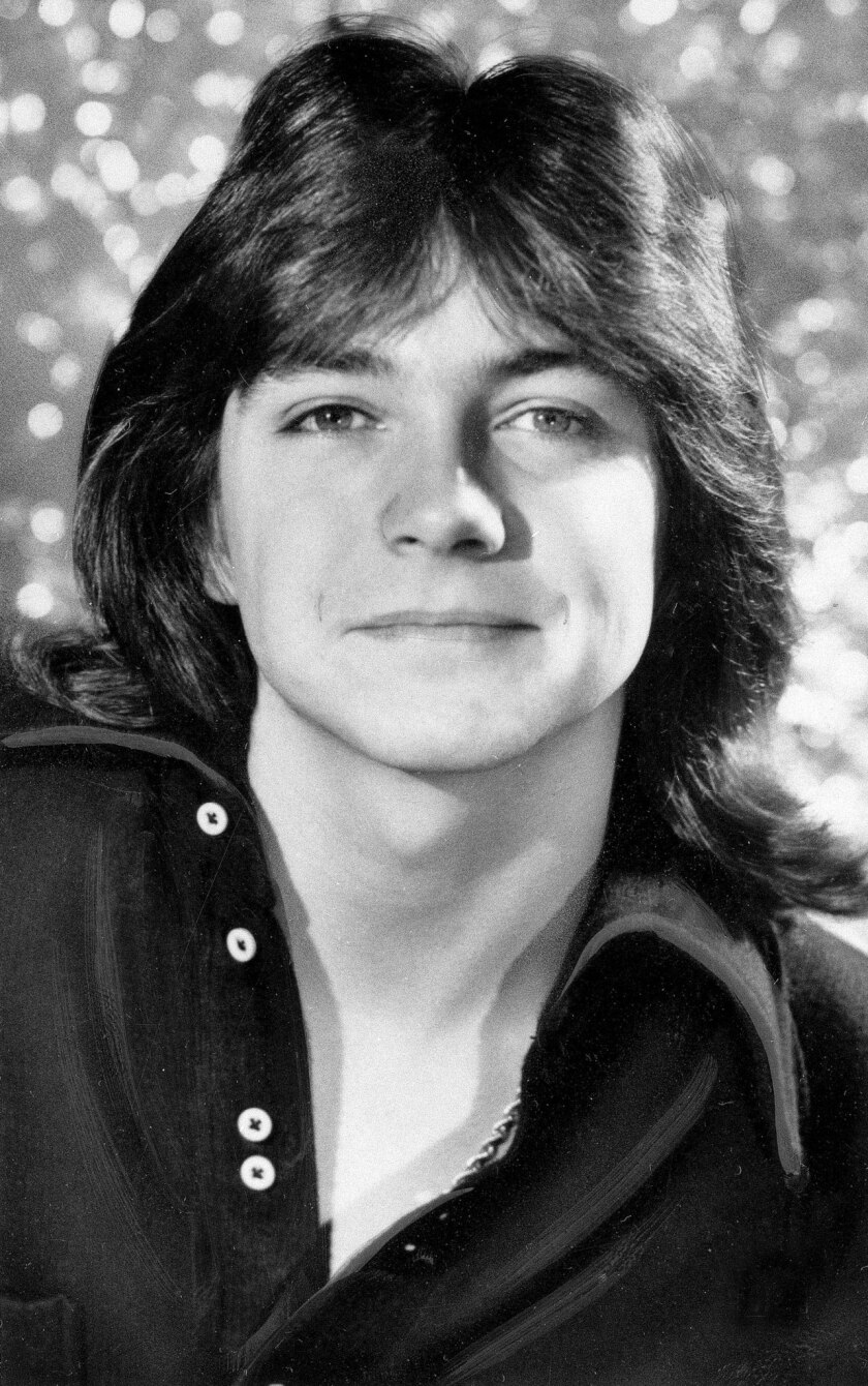 David Cassidy, shown in a 1972 photo, was arrested near LAX on suspicion of drunk driving, the California Highway Patrol said.