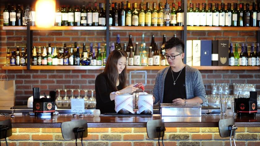 Chang'an owners Minda and Nick Zhang.