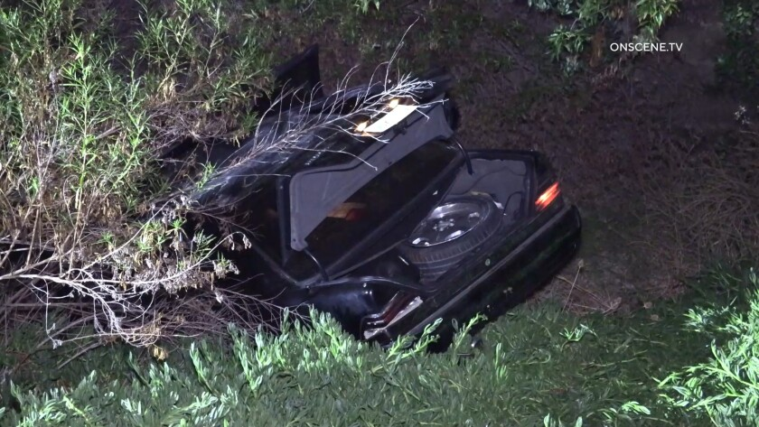 A 19-year-old woman died in a crash in the Paradise Hills neighborhood of San Diego early Wednesday, police said.