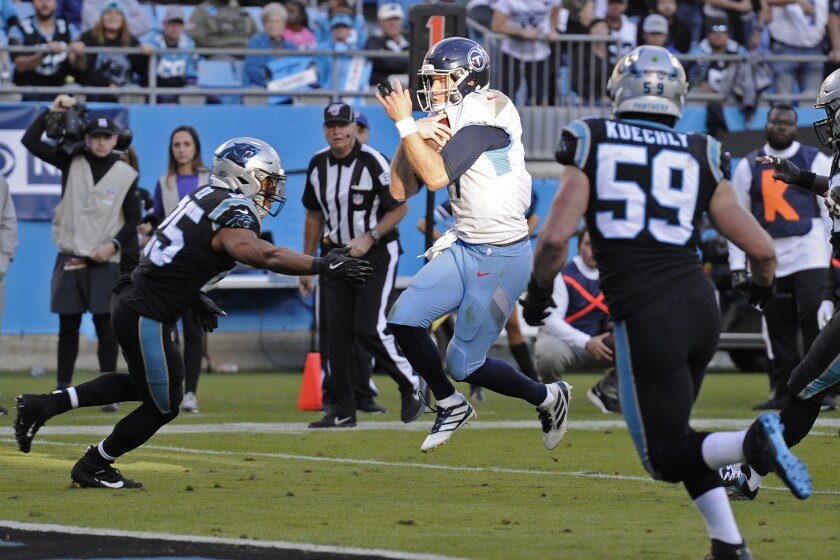 Titans Panthers Football