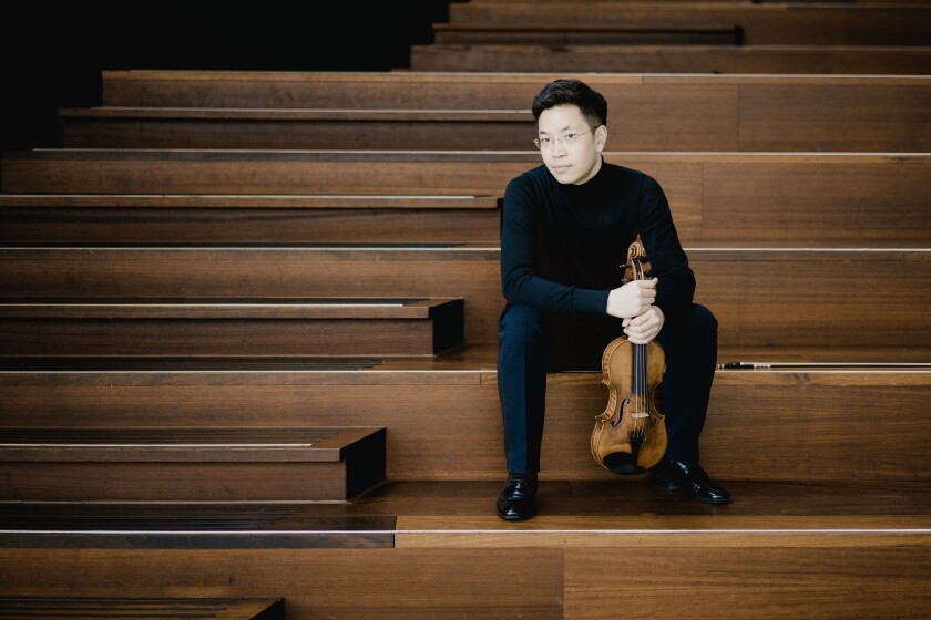 Paul Huang was one of the featured musicians at the 2021 La Jolla Music Society SummerFest.