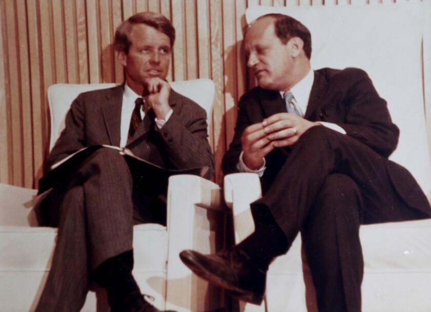 Frank Mankiewicz and Robert Kennedy