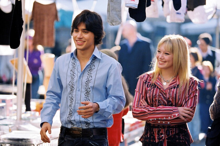 Hilary Duff in 'The Lizzie McGuire Movie'