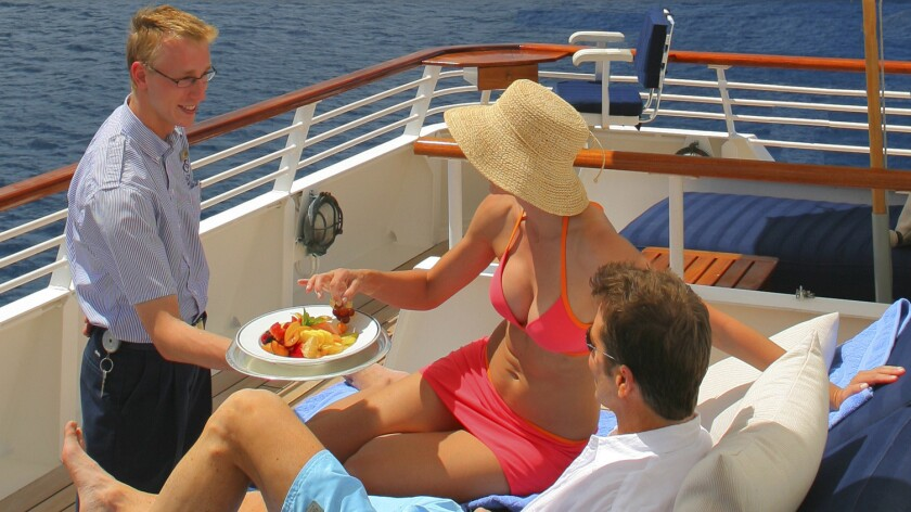 Balinese dream beds service is offered on SeaDream I and SeaDream II.