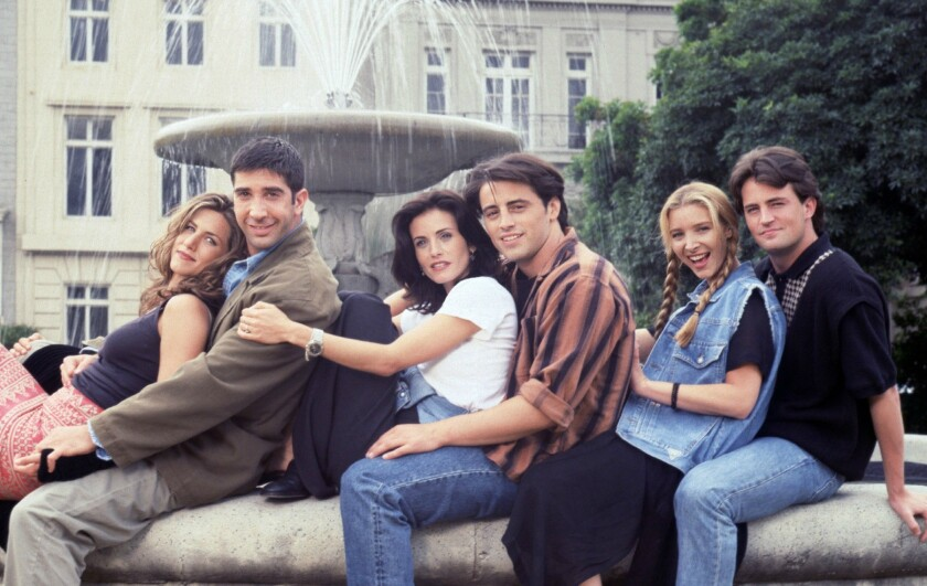 A 'Friends' cast reunion is in the works -- but it's not what you think