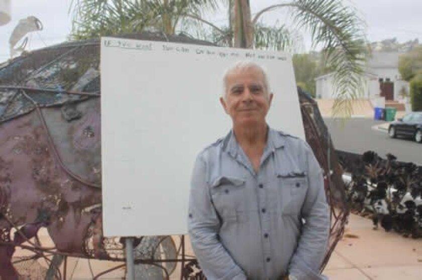 Artist nasser Pirasteh.