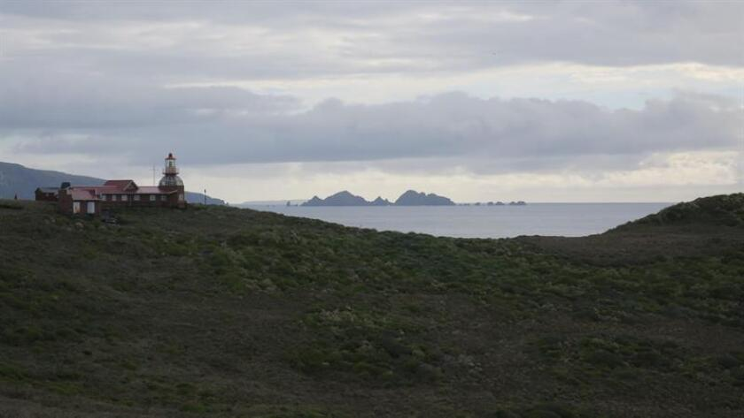 Landscape view of the Honors Island on Jan. 21, 2019, in Chile. It is believed that in the waters surrounding the mythical Cape Horn, considered by many to be the most dangerous in the world, 10,000 sailors died and 800 ships sank. At night, the lighthouse guides the sailors who pass through the cape, with cold and stormy waters that can cause immense waves and wild winds that for centuries have put in difficulty the most skilled expeditionaries. EPA-EFE / Rodrigo Garcia