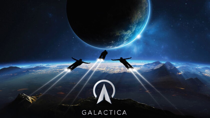 Galactica space tourism company