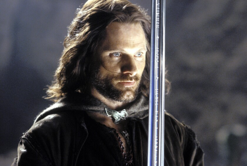 """Viggo Mortensen in """"The Lord of the Rings: The Return of the King"""""""