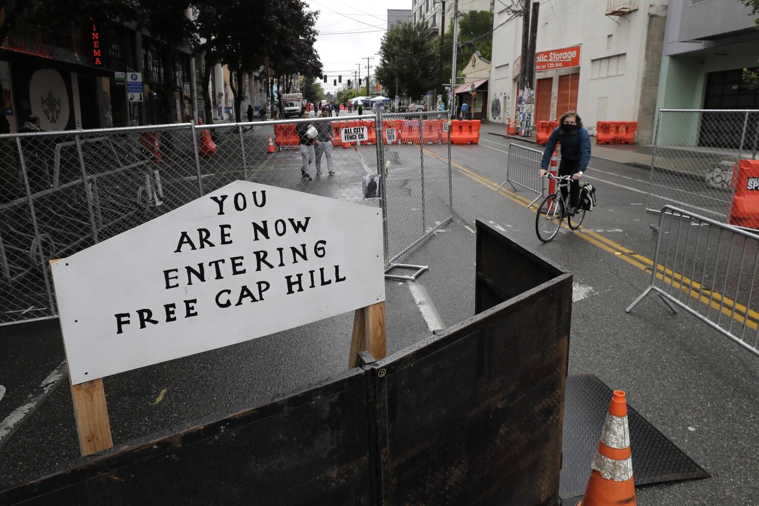 Q A What S Next For Seattle Protesters Autonomous Zone Los Angeles Times