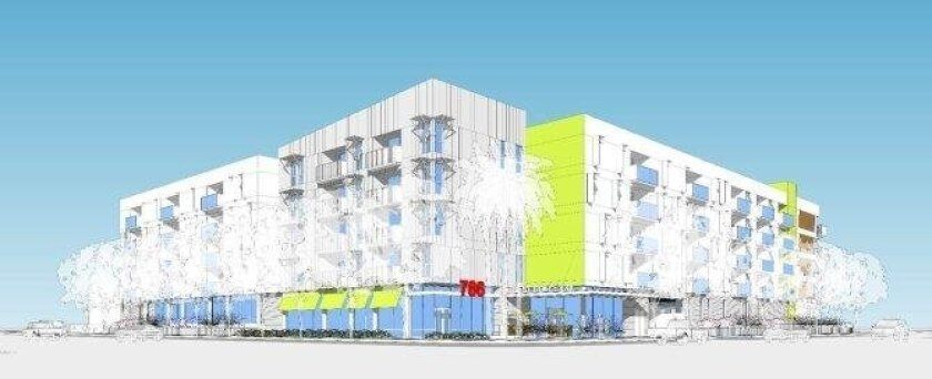 Proposed Vista del Mar 3rd Avenue and K Street residential project