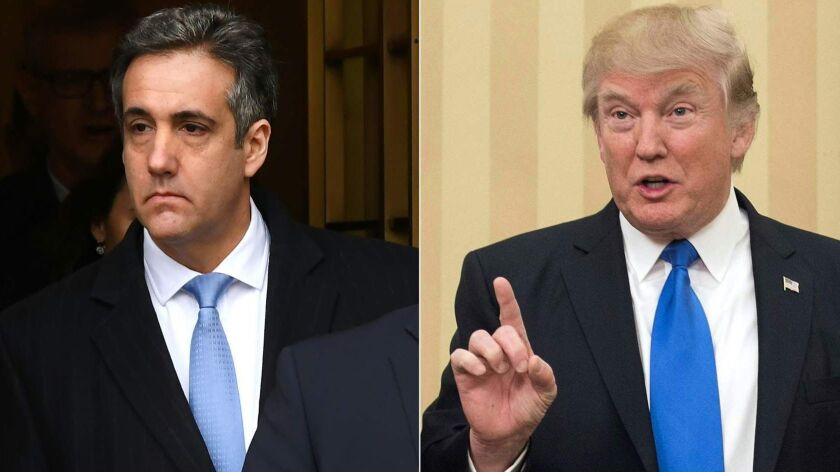 """In response to a report alleging that he paid a tech firm to rig polls for Trump, Michael Cohen said: """"I truly regret my blind loyalty to a man who doesn't deserve it."""""""