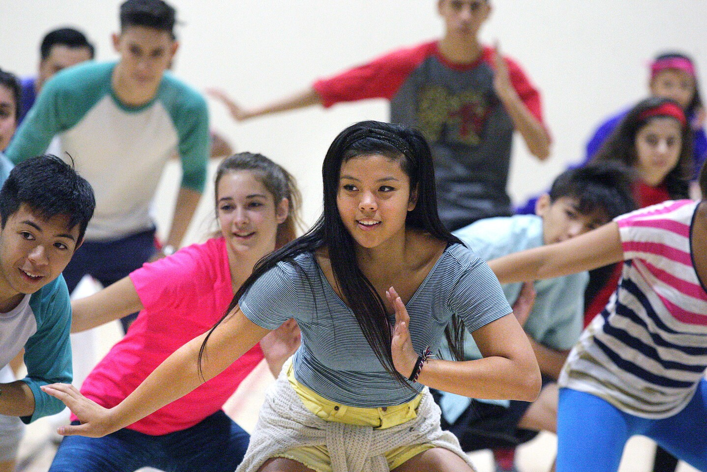 Photo Gallery: Glendale High School Dance team learns