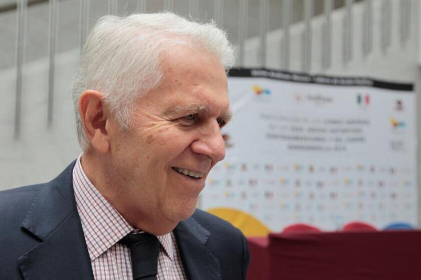 El presidente del Comité Olímpico Mexicano, Carlos Padilla. EFE/Archivo